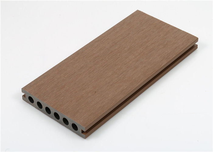 Decorative Wood Plastic Composite Panel / Board / Decking Waterproof